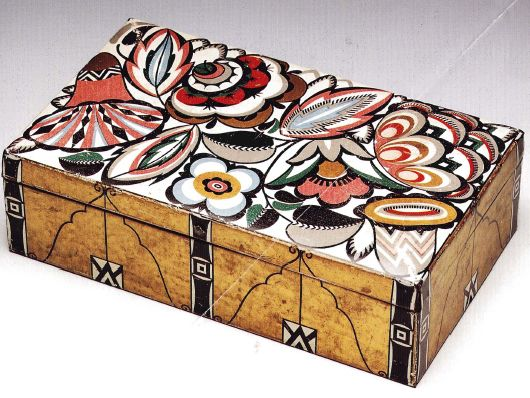 Biscuit box designed by Emmanuel Josef Margold, 1915: Bodacious Boxes, Music Boxes, Pretty Boxes, Boxes Trinket