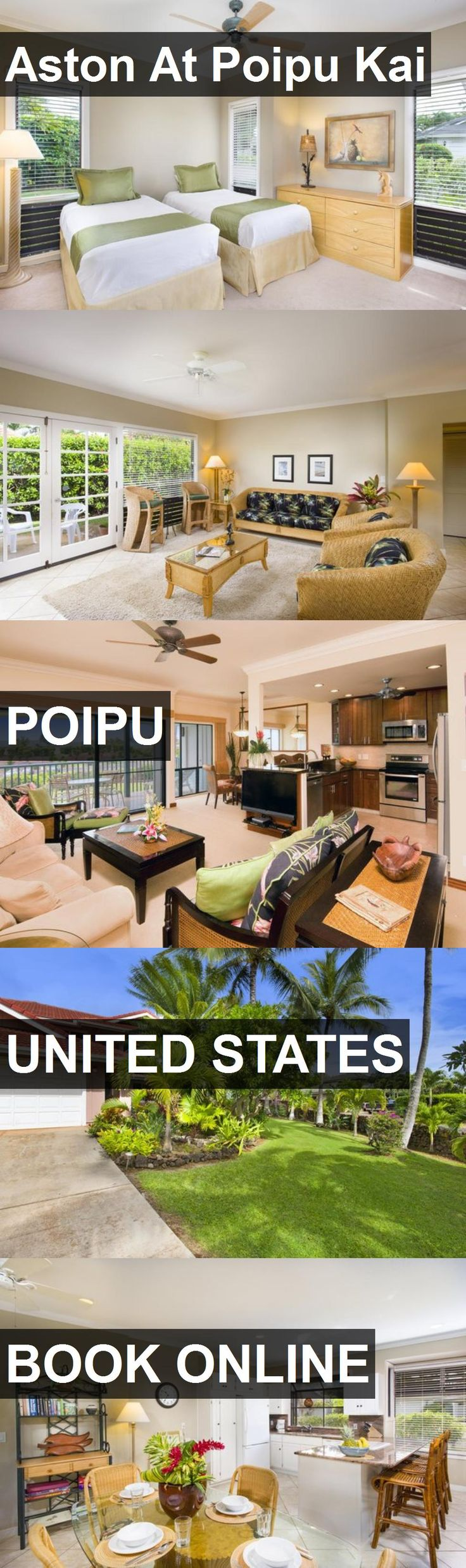 Hotel Aston At Poipu Kai in Poipu, United States. For more information, photos, reviews and best prices please follow the link. #UnitedStates #Poipu #travel #vacation #hotel