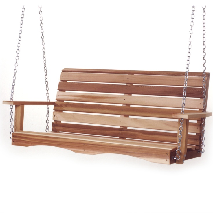 cedar swing this cedar porch swing is available in 3 sizes 4 garden furnitureoutdoor