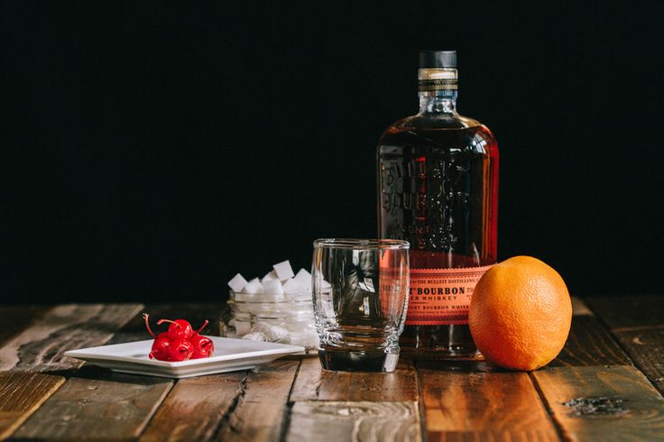 A month of gentlemen// rye/bourbon old-fashioned