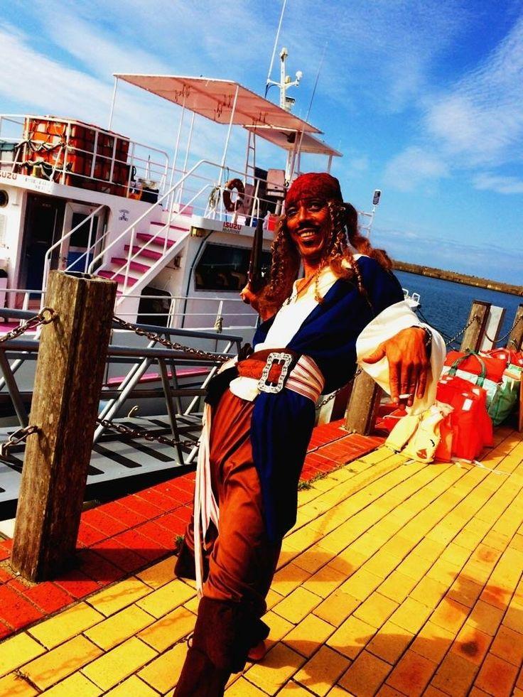 銚子イルカウォッチング 船長のジャック(笑)