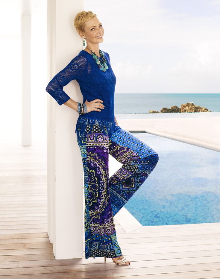 Palazzo pants outfit ideas pinterest