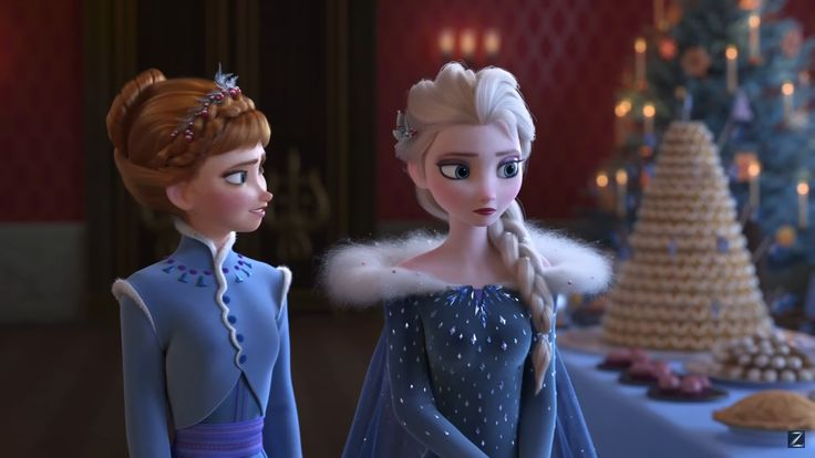 Finally! A new Frozen short! With new outfits!!!!