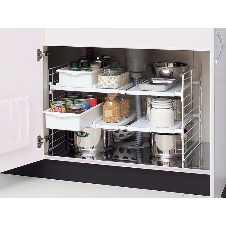 IRIS USA, Inc. Under-Sink Multi-Drawer Organizer