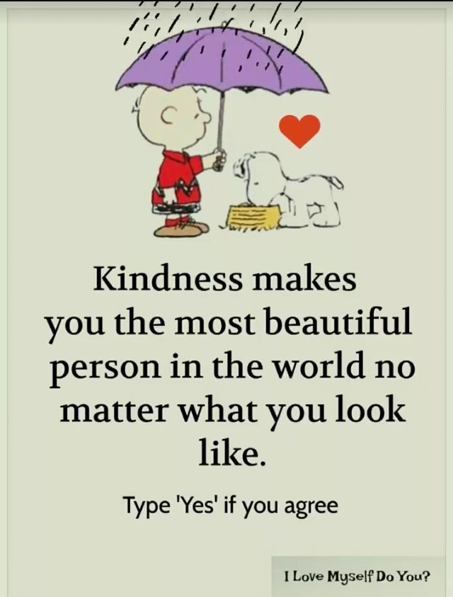 Charlie Brown, Snoopy, Woodstock. #peanuts #kindness #quotes