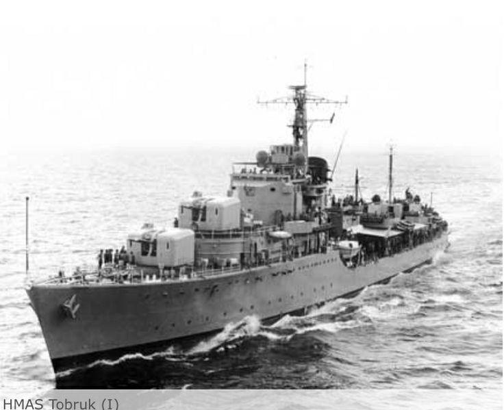 H.M.A.S. Tobruk.