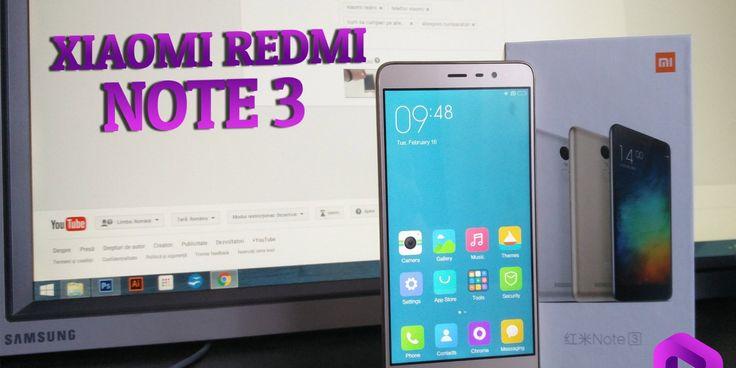 Test video Xiaomi Redmi Note 3