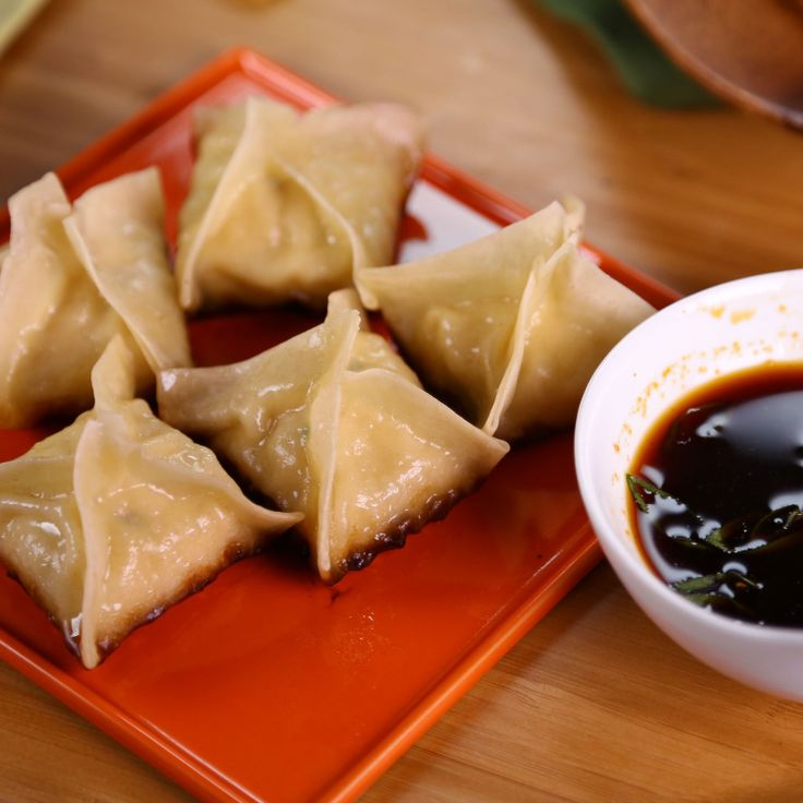 the chew | Recipe  | Carla Hall's Pan-Fried Dumplings