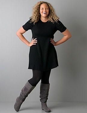 2010 and 2011 Winter Fashion Trends For Plus Size and Curvy Women | Real Women Have Curves Blog