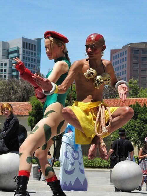 Street Fighter: Dhalsim Click for more male cosplayers and see their awesome cosplay!