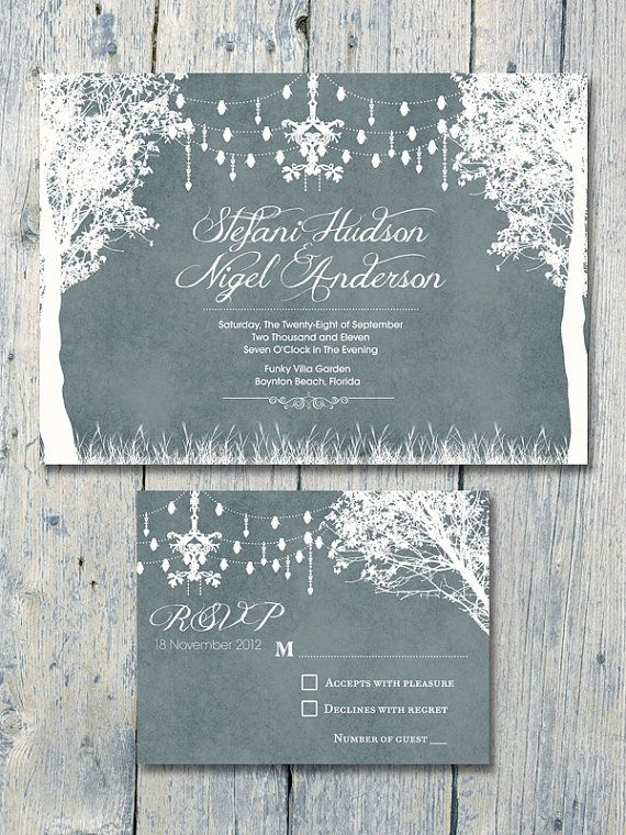 Digital Printable Files In the Winter by WeddingSundaeShop