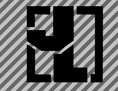 2x Jeep JL Fender Decal - sticker Cherokee Wrangler Badge CJ TJ WJ XJ YJ ZJ 4x4