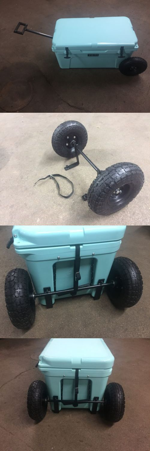 Camping Ice Boxes and Coolers 181382: Yeti Cooler 65 Wheel Tire Axle Kit The Handle Accessory Included-No Cooler -> BUY IT NOW ONLY: $145 on eBay!