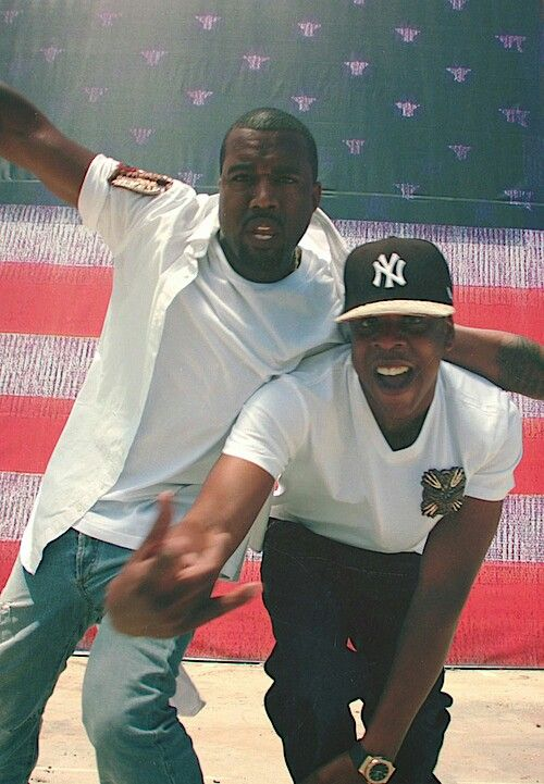 Kanye wets ans jay-z