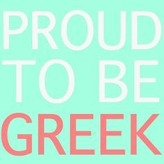 proud to be Greek