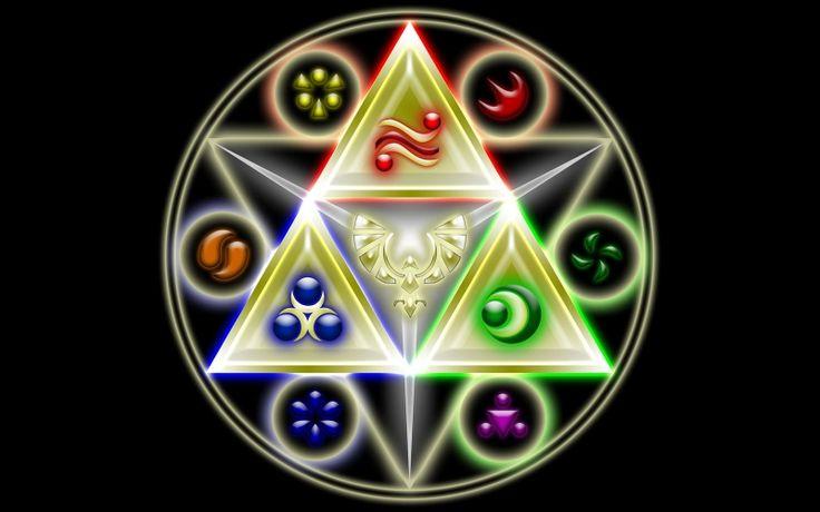 triforce the legend of zelda 1600x1000 wallpaper Video Games Zelda HD