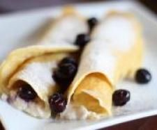 Recipe Gluten Free Ricotta and Blueberry Crepes  | Mother's Day Thermomix Recipes