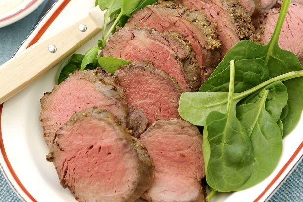 Mustard Roast Beef With Aioli Recipe - Taste.com.au