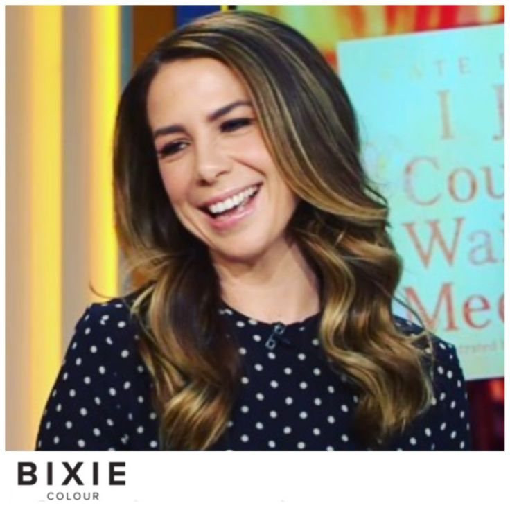 Kate Ritchie, balayage using Olaplex keeping the roots deeper. Colour by Sheree