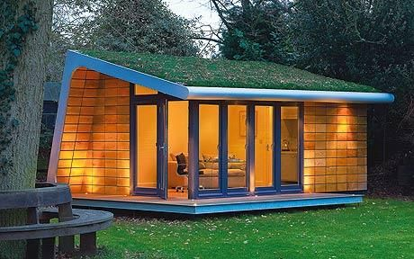 Rooms Outdoor specialises in super-contemporary, year-round garden rooms inspired by the aesthetics of Le Corbusier and the Bauhaus. Prices start at £12k (020-8332 3022; roomsoutdoor.co.uk)