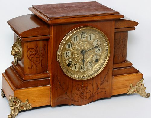 Seth Thomas Mantle Clock - my grandparents had one very similar to this one, but sadly it went to my aunt instead of me.