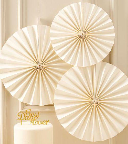 Papierfächer-Set