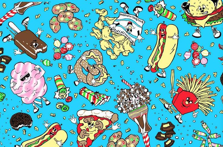 print from jeremy scott s a w 2006 collection food fight