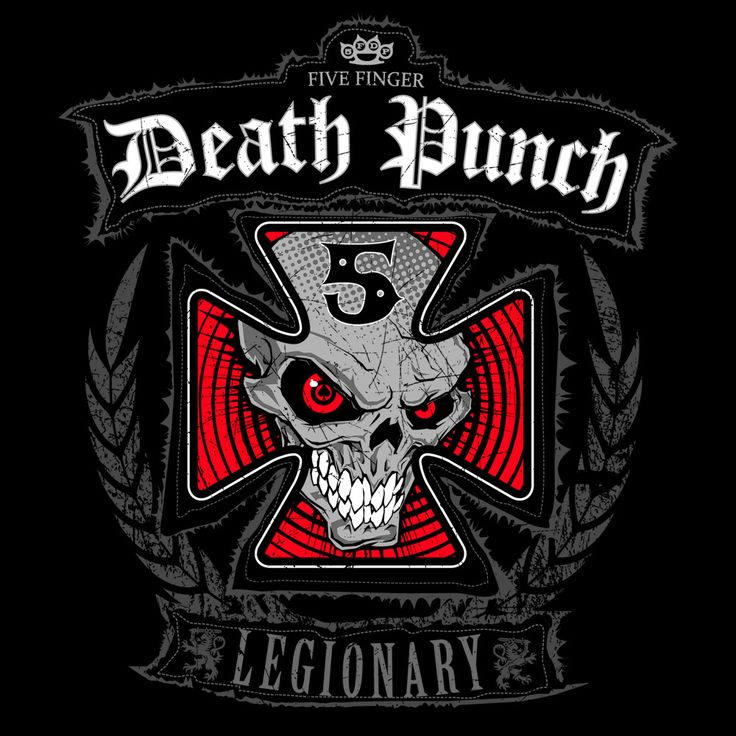 Five Finger Death Punch By Nathan VanNest See More 5FDP
