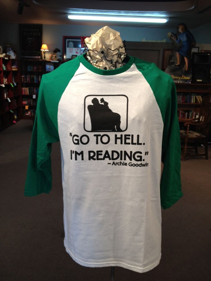 13 Terrific Bookish T-Shirts