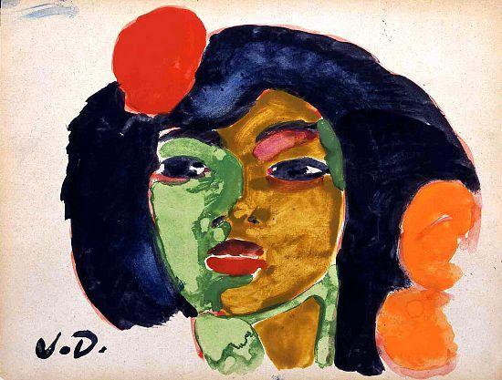 La Gitane, by Kees van Dongen (Dutch 1877-1968)