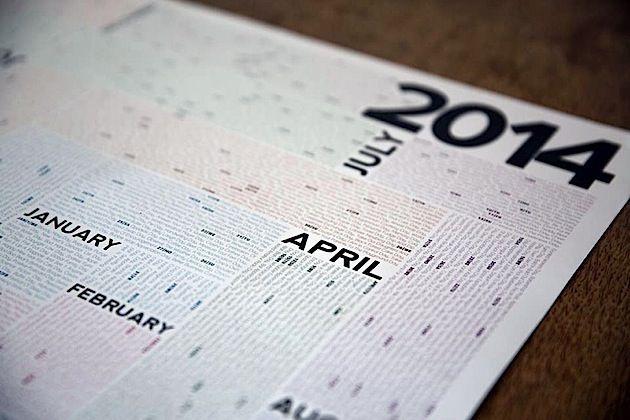 Der Kalender mit über 2000 Feiertagen