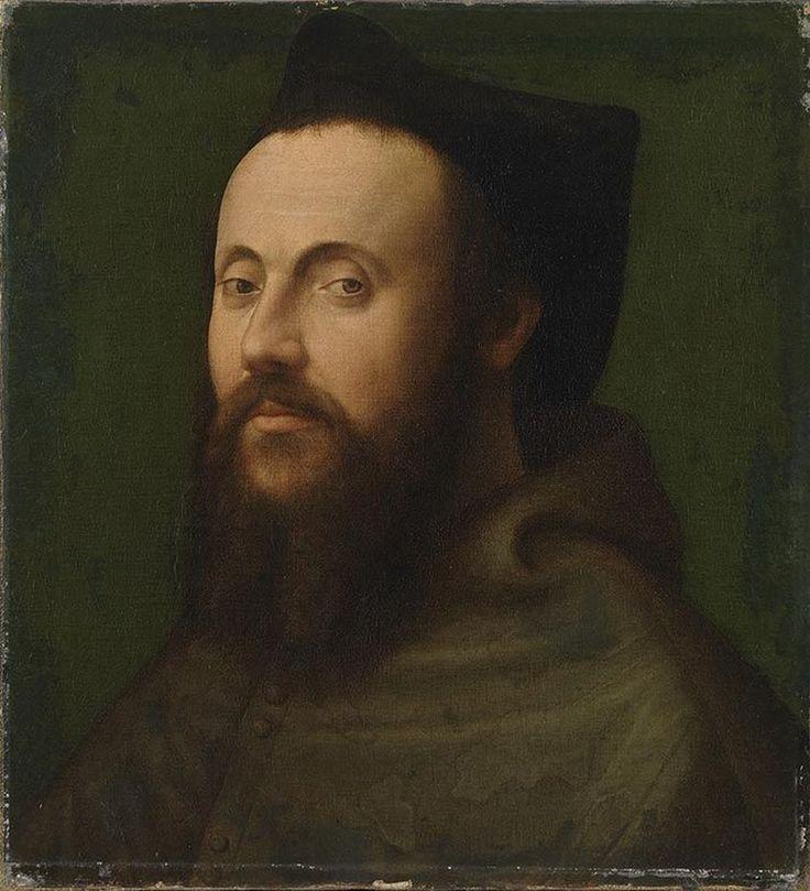 Portrait of a Clergyman / Retrato de un clérigo // 1525 - 1549 // Sebastiano del Piombo // Alte Pinakothek München