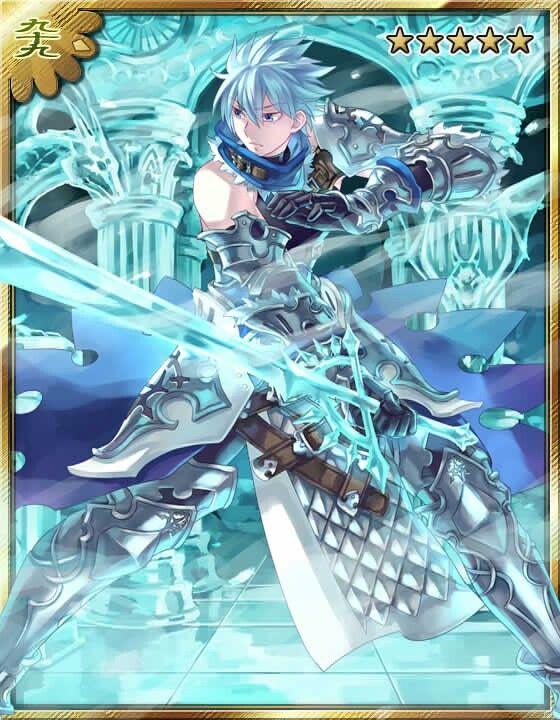Ice sword... #ayakashi #bishie