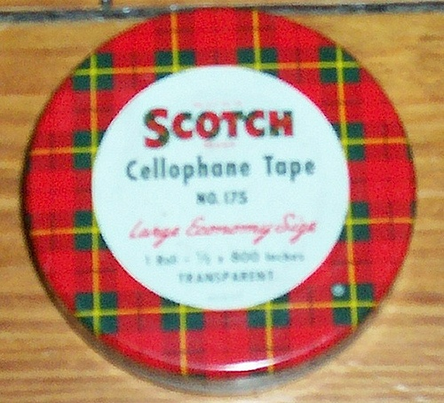 Scotch Cellophane Tape by collectologist, via Flickr
