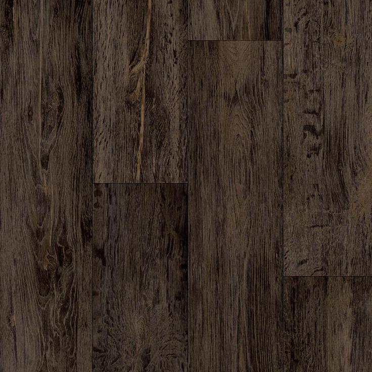 Take Home Sample Barnwood Oak Dark Brown Vinyl Sheet 6 In X 9 In Dark Brown Distressed Oak With Ure Vinyl Sheet Flooring Dark Wood Floors Vinyl Flooring