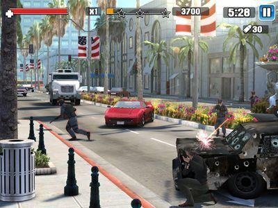 Lawless es un juego de acción gratuito para IPhone en primera persona, en el que lideras una banda de criminales que luchan por los territorios.