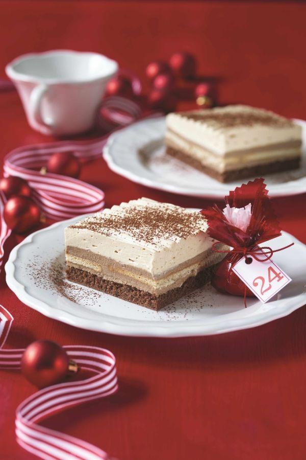 Vianočné rezy - Recept pre každého kuchára, množstvo receptov pre pečenie a varenie. Recepty pre chutný život. Slovenské jedlá a medzinárodná kuchyňa