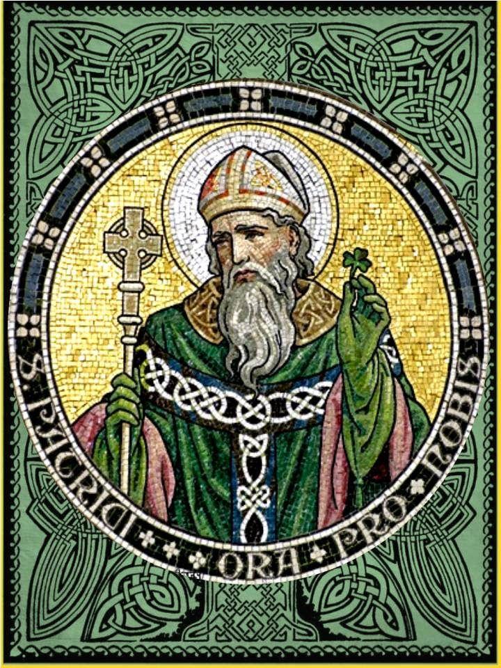 Bienaventurado san Patricio, glorioso apóstol de Irlanda,  por tu valentía y caridad, por tu fuerza y poder,  te ruego me tomes bajo tu...