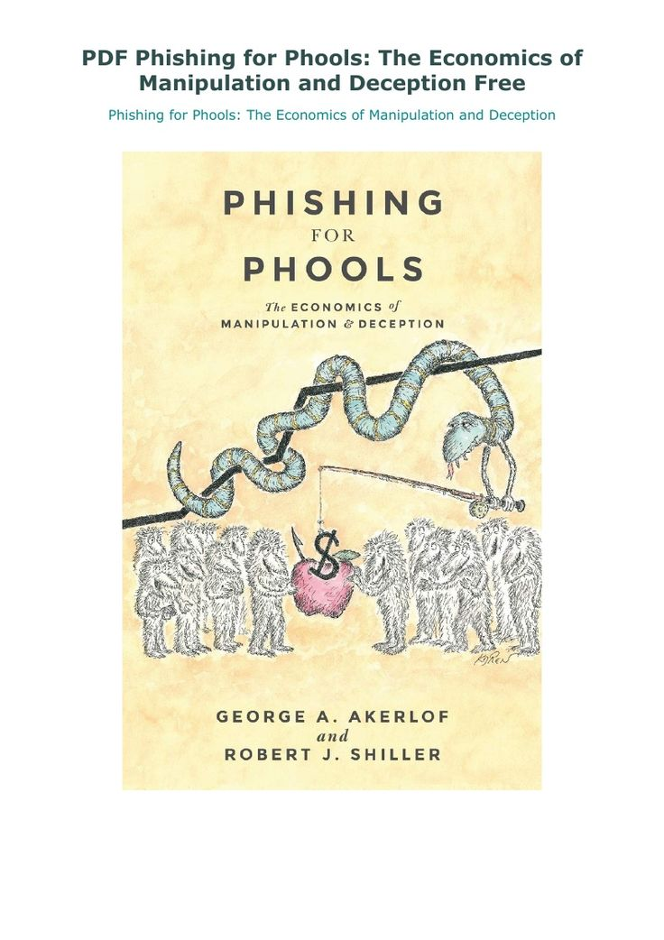 Phishing For Phools PDF