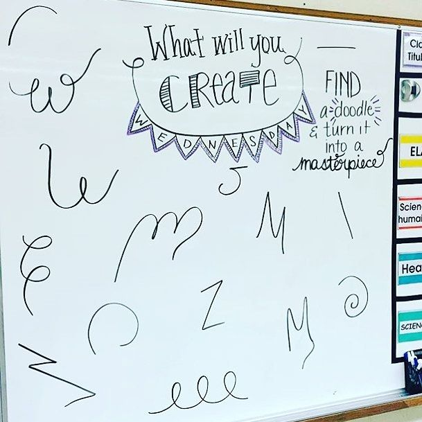 I'm loving @lovin7th's #miss5thswhiteboard. Original board idea from the oh so…