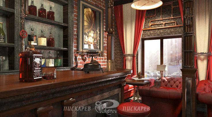 Jules verne restaurant interior design vladimir