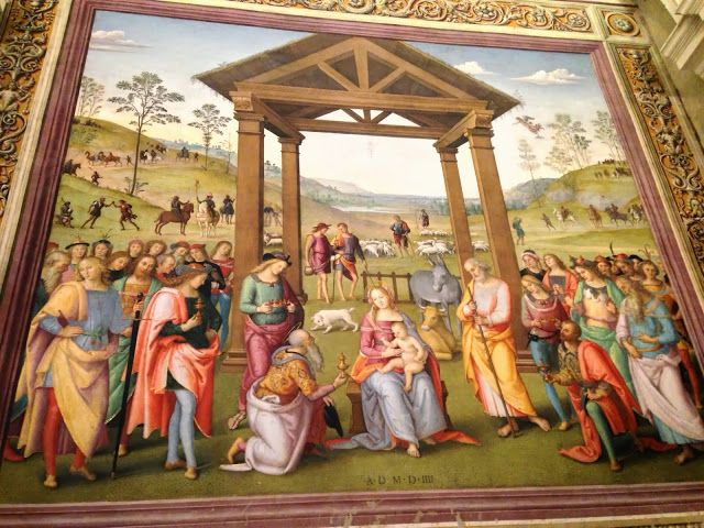 PERUGINO MASTERPIECE - 16TH C