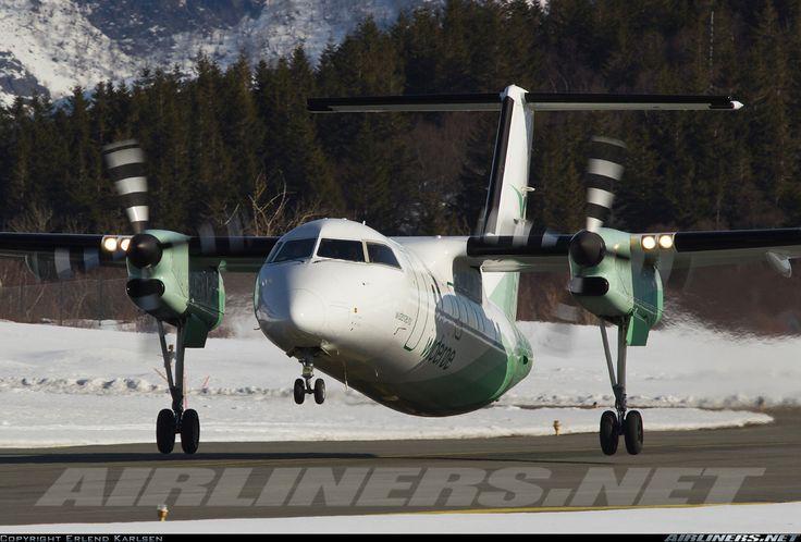 Wideroe De Havilland Canada DHC-8-202Q Dash 8  Bronnoysund - Bronnoy (BNN/ENBN) Norway, April 11, 2013