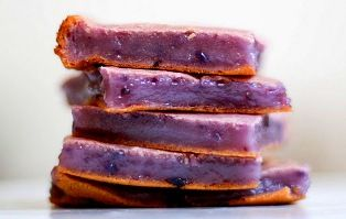 Okinawan Sweet Potato Mochi
