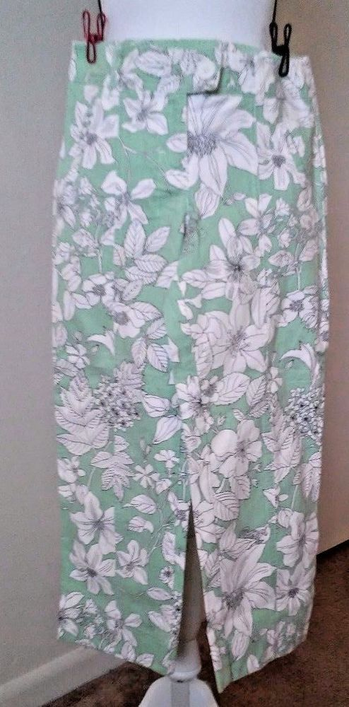 Ann Taylor LOFT Pants Size 0P Green Floral Print | Clothing, Shoes & Accessories, Women's Clothing, Pants | eBay!