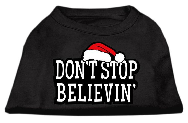 Don't Stop Believin' Screen Print Shirt