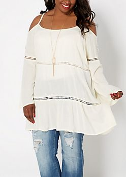 Junior Plus Size Dressy Tops | Shirts & Blouses | rue21