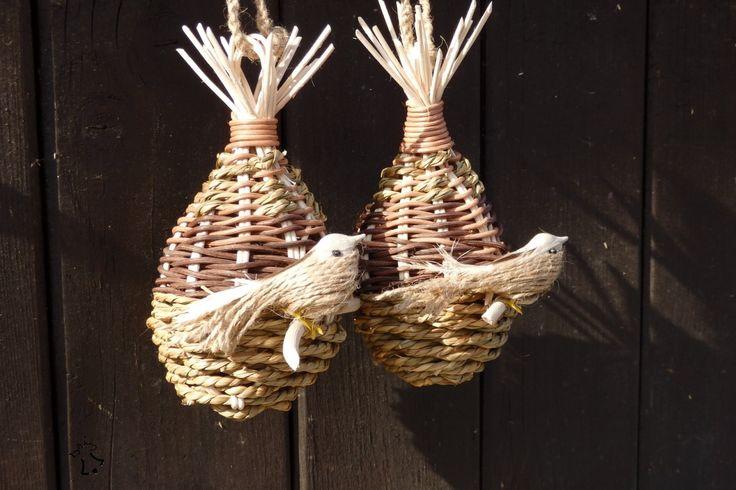 Jarní dekorace - Ptačí obydlí II