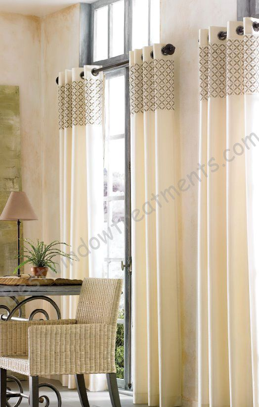 Galaxy Grommet Curtain Panel available in 5 colors