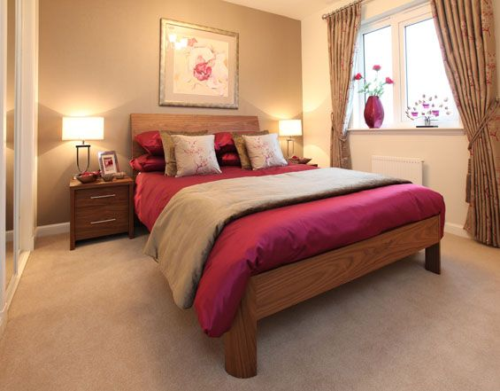 Raspberry Bedroom Ideas: 17 Best Images About Bedroom On Pinterest